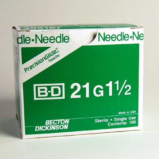 000805 Needle, 21G x 1.5